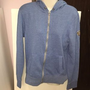 American Eagle Outfitters blue zip up hoodie. XS